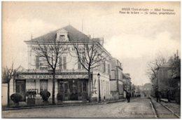 28 DREUX - Hôtel Terminus - Place De La Gare - Dreux