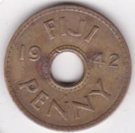 Fidji 1 Penny 1942 George VI , Cupro Nickel . KM# 7 - Fiji