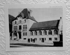 Ecole Et Mairie De St Pierre De Chartreuse - Extrait D'un Dossier De Documentation Pédagogique  1956 - 27 X 21 Cm - Books, Magazines, Comics