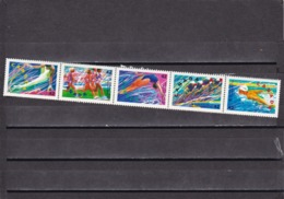 Canada Nº 1244 Al 1248 - Verano 1992: Barcelona