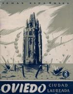 ASTURIAS / OVIEDO CIUDAD LAUREADA , TEMAS ESPAÑOLES , 1953 - ALVAR FÁÑEZ , 24 X 18 RÚSTICA , 30 PÁGINAS CON FOTOGRAFIAS - Géographie & Voyages