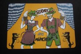 Munchen Postcard - Dachshund - Dachshound - Teckel - Dackel - Bassotto - Cani