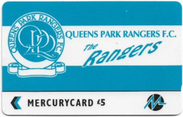 UK (Paytelco) - Football Clubs - Queens Park Rangers - 3PFLN, 5.900ex, Used - Ver. Königreich