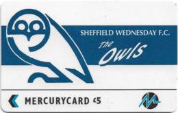 UK (Paytelco) - Football Clubs - Sheffield Wednesday Logo - 3PFLV, 5.900ex, Used - Ver. Königreich