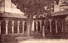 9552-2019     SAINT EMILION   LE CLOITRE DE L EGLISE COLLEGIALE - Saint-Emilion