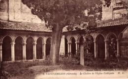 9553-2019     SAINT EMILION   LE CLOITRE DE L EGLISE COLLEGIALE - Saint-Emilion