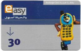 Yemen - Easy - Mobile Funny Figure, Prepaid Card, 30Units, Used - Yémen
