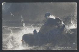 "C13.""Karl Raupp. Restless Thoughts."" Post 1911. Riga Torensberg (Tornakalns, Latvia). Russian Empire. Franking - Storia Postale"