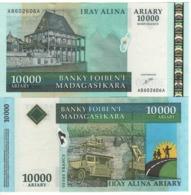 MADAGASCAR  10'000 Ariary - 50'000 Francs   P85    UNC - Madagascar