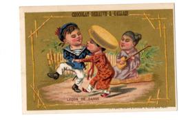 Chromo Imp. Appel, 3-1-46, Japon Ou Chine (?), Chocolat Debauve & Gallais - Chocolate