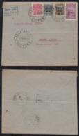 Brazil Brasil 1930 AEROPOSTALE Airmail Cover VICTORIA To PORTO ALEGRE - Brésil