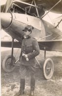 Aviation - Aviateur Lieutenant Léon Buclin De Genève - Aviación
