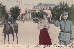 WIEN , Austria , 1890s ; K.k. Hofburgtheater - Vienna