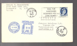 Canada  Vancouver 1962 > POSTAGE DUE > Numismaats Amsterdam Netherlands (FM-44) - 1952-.... Reign Of Elizabeth II