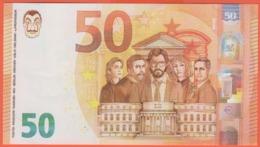 """50 Euro - Pseudo Banconota """"La Casa Di Carta"""", La Casa De Papel - Italia"""