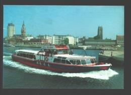 Dunkerque - Le Commandant Et Son équipage Vous Remericient De Votre Passage à Bord De L'Elsa - Bateau / Boat - Dunkerque