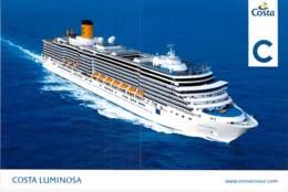PAQUEBOT CROISIERE - COSTA LUMINOSA (Costa Crociere Italie / USA Carnival Corporation ) Jolie CPM GF Liner Cruise Ship - Dampfer