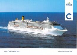 PAQUEBOT CROISIERE - COSTA ATLANTICA ( Costa Crociere Italie/USA Carnival Corp.) CPM Format 17 X 12 Cm Liner Cruise Ship - Dampfer