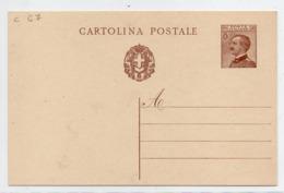 "1929 - CARTOLINA POSTALE "" STEMMA CON FASCI "" NUOVA VEDI++++ - 1900-44 Vittorio Emanuele III"