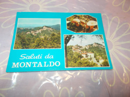 B743  Montaldo Cuneo Saluti Viaggiata - Autres Villes