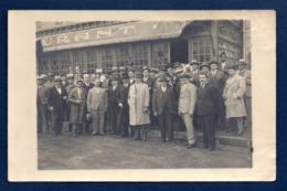 Maroc. Carte-photo. Mazagan. Cinéma De Mme Dufour, Place Dubro. Réunion Des Anciens Combattants. 1938 - Altri