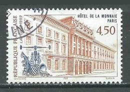France YT N°3252 Hotel De La Monnaie Paris Oblitéré ° - Gebraucht