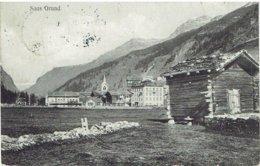 SAAS GRUND - Avec Hôtel Du Mont Moro - VS Valais