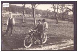 DISTRICT DE LA VALLEE - MOTOCYCLETTES A LA VALLEE DE JOUX ( SELON FOURNISSEUR DE LA CARTE ) - TB - VD Vaud