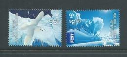 Australian Antarctic Territory 2009 Poles & Glaciers Set Of 2 MNH - Territorio Antartico Australiano (AAT)