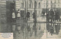 44 - Nantes - Janvier-Février-Mars 1910 - Le Coin De L'Avenue Launay Et De La Place Lamoricière - Nantes