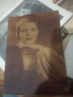 Actress Attrici Elisa Cegan  Film Star CINEMA  PHOTO POSTCARD.  N1938 HG1521 - Artisti