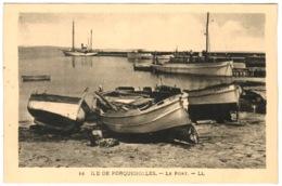 83 - Ile De Porquerolles - Le Port - Porquerolles