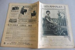 LES ANNALES 8 JUIN 1924-DERNIER ROI DES ILES HAWAÏ-L'ART AU PAYS DE LIÈGE-LE CHILI -DON ARMANDO QUEZADA ACHARAN - 1900 - 1949
