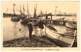 83 - Ile De Porquerolles - Le Môle Et La Jetée - Porquerolles