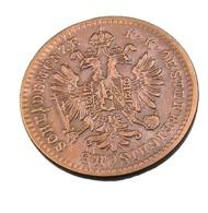 1 Kreuzer - Autriche - 1878 - Cuivre - Sup - Austria