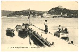 83 - Ile De Porquerolles - Vue Générale - Porquerolles