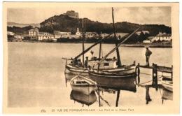 83 - Ile De Porquerolles - Le Port Et Le Vieux Port - Porquerolles