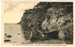 83 - Ile De Porquerolles - Un Coin De La Calanque De L'oustaou De Diou - Porquerolles