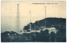 83 - Ile De Porquerolles - Poste De Tsf - Porquerolles