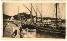 83 - Ile De Porquerolles - Le Port Et La Jetée - La Douce France Cote D'azur - Porquerolles