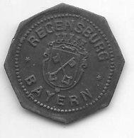 *notgeld  Regensburg  5 Pfennig ND/o.j.   Zn    442.1b  19,50 Mm - [ 2] 1871-1918 : Empire Allemand