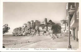 BENIDORM - PLAYA DE LEVANTE - FORMATO PICCOLO - (rif. P31) - Alicante