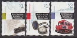 2017 Australian Antarctic Territory 3 Eras Complete Set Of 3 MNH @ 90% Face Value - Australian Antarctic Territory (AAT)