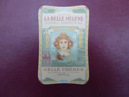 GELLE FRERES LA BELLE HELENE - Perfume Cards