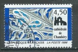 France YT N°3021 Cathédrale De Chambéry Oblitéré ° - Gebraucht