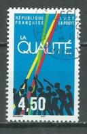 France YT N°3113 La Qualité Oblitéré ° - Gebraucht