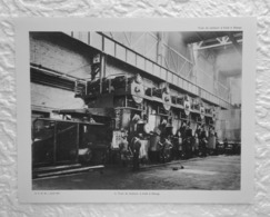 Train De Laminoirs à Froid à EBANGE - Extrait D'un Dossier De Documentation Pédagogique  1955 - 27 X 21 Cm - Books, Magazines, Comics