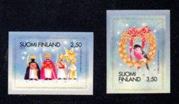 FINLANDE 2000 - Yvert N° 1509/1510 - Facit 1544/1545 - NEUF** MNH - Noël - Finlande