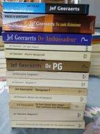Jef Geeraerts, 13 Boeken (zie Foto's) - Livres, BD, Revues