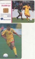 ROMANIA(chip) - Football/Adrian Mutu, 06/00, Used - Sport